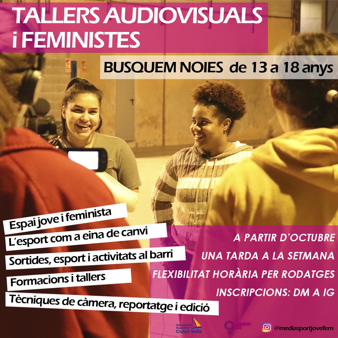 joves, feminismes, audiovisuals, esport