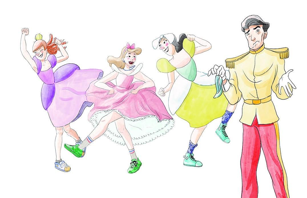 Ventafocs i les germanastres ballant